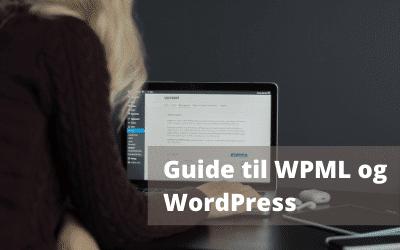 Guide til WPML og WordPress